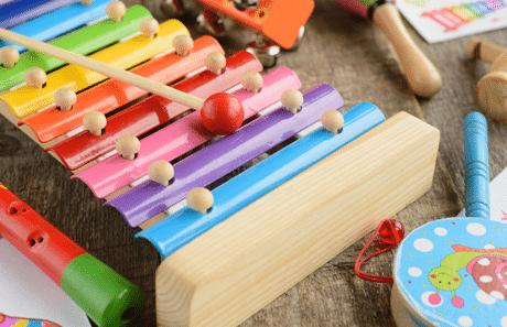 Muziek maken met je kind