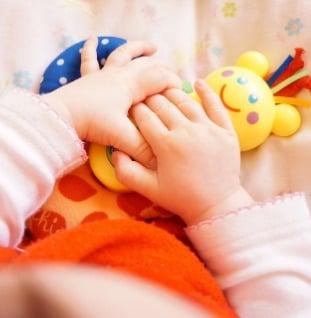 wennen baby kinderopvang
